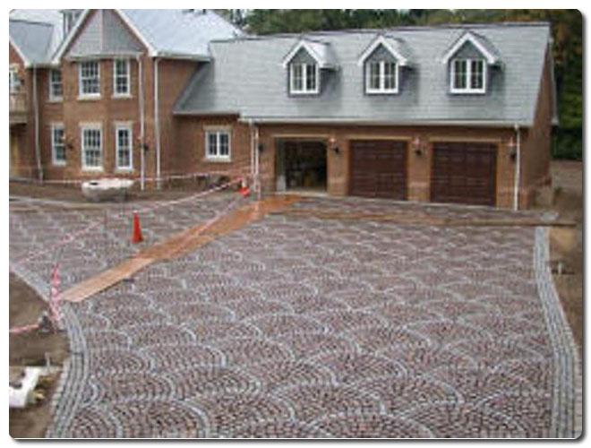Using Cobbles And Stone Flags For Driveways Steptoes Yard