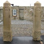 Stone Gate Posts
