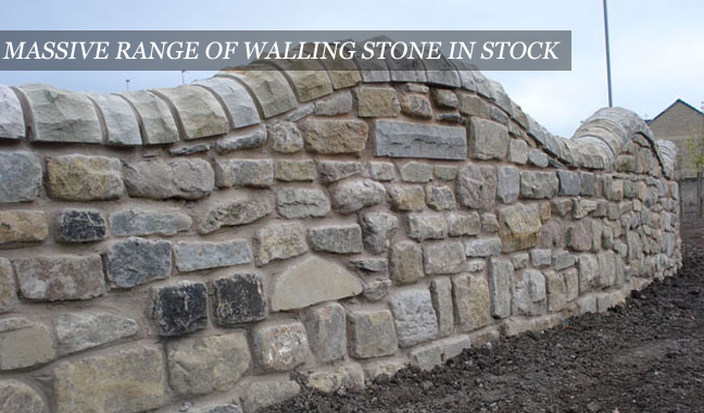 Walling stone building stone for Building a stone house