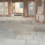 Yorkstone Flags Internally