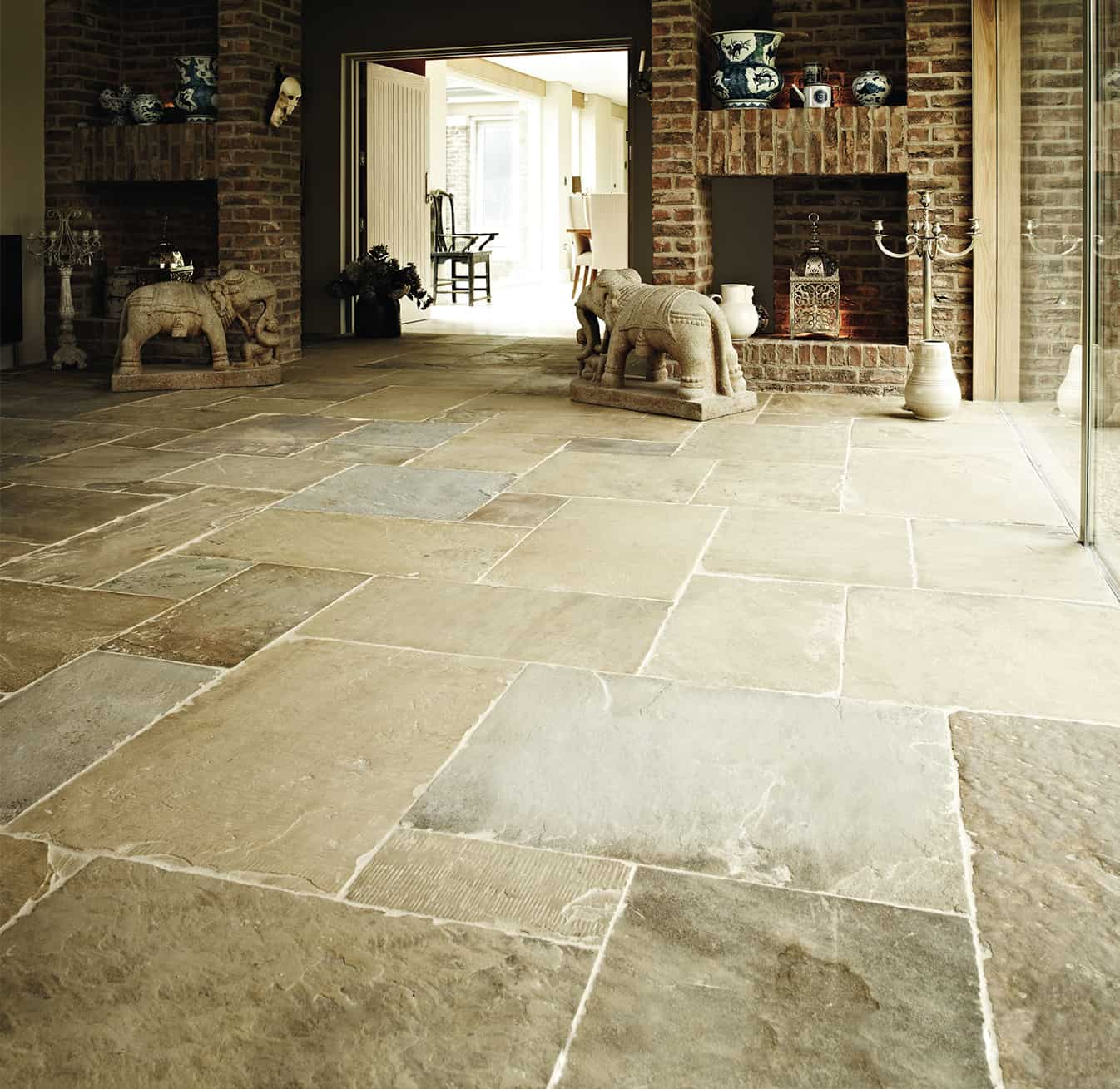 Country Kitchen Floor Tiles