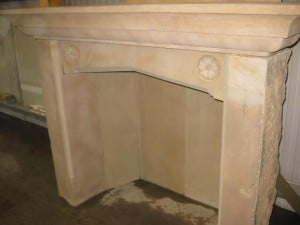 crafted bespoke stone fireplace