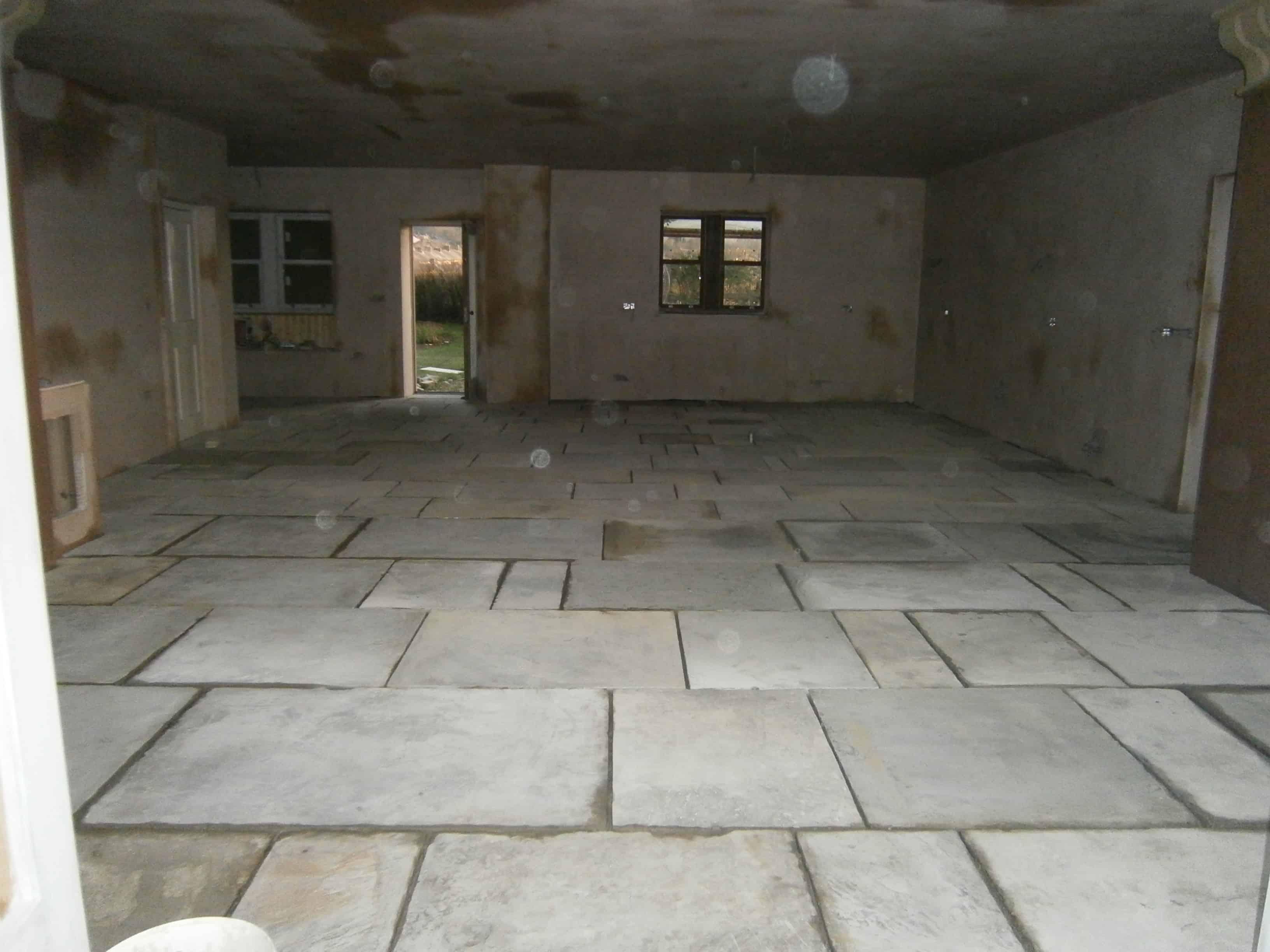 Yorkstone floor the ground beneath her feet york stone flags dailygadgetfo Gallery